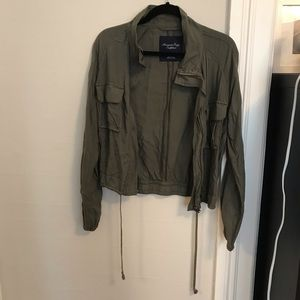 American Eagle Army Green Utility Jacket